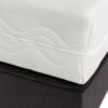 Detail van goedkope boxspring Kido waarop ingezoomd is op het matras