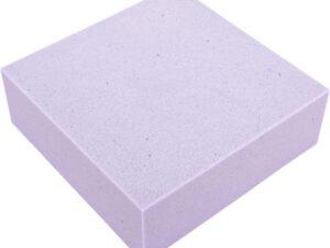 vulling van een lastilux topper in de kleur paars