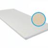 latex topmatras in de kleur wit