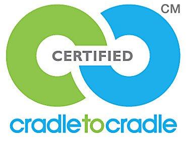 Logo van cradle to cradle voor hotelbedden
