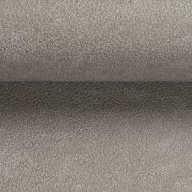 stof nevada met leder structuur en een tint lichter dan beige