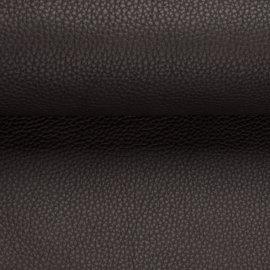 donker bruine lederlook boxspring stof nevada 28