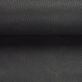 zwarte skai leder boxspring stof 98 zwart