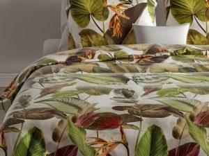 Dekbedovertrek Gianni met bladeren print van het merk Zo! Home