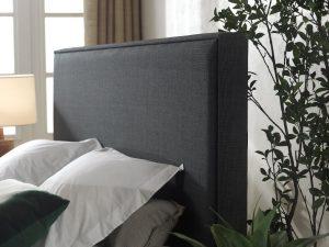 detail van hoofdbord boxspring frame